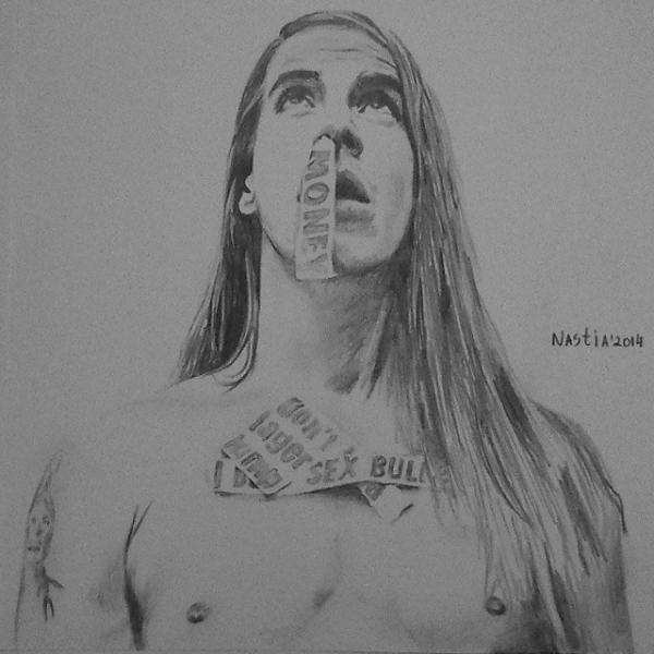 Anthony Kiedis par nastiaofficial